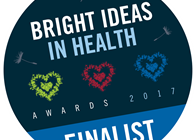 Icon showing Bright Ideas in Health Finalist