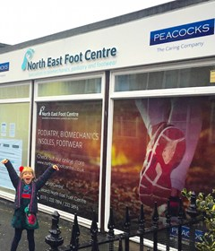 North East Foot Centre Shop Front