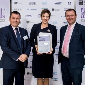 Peacocks health and safety award EEF